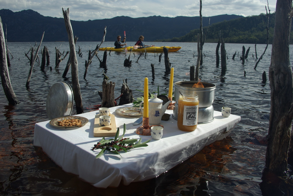 Lake Pedder Tea Ceremony