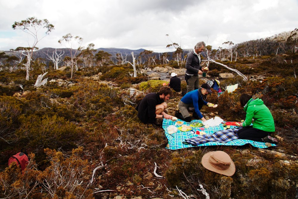 A Picnic Lunch Within World Heritage