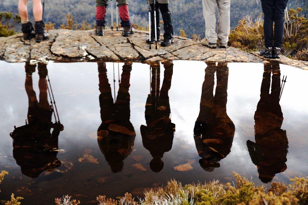 Reflections Across A Jurassic Landscape