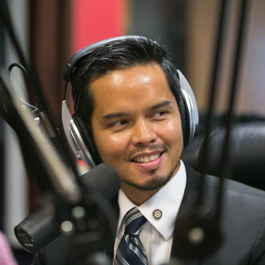 Rainier Trinidad, Financial Advisor -