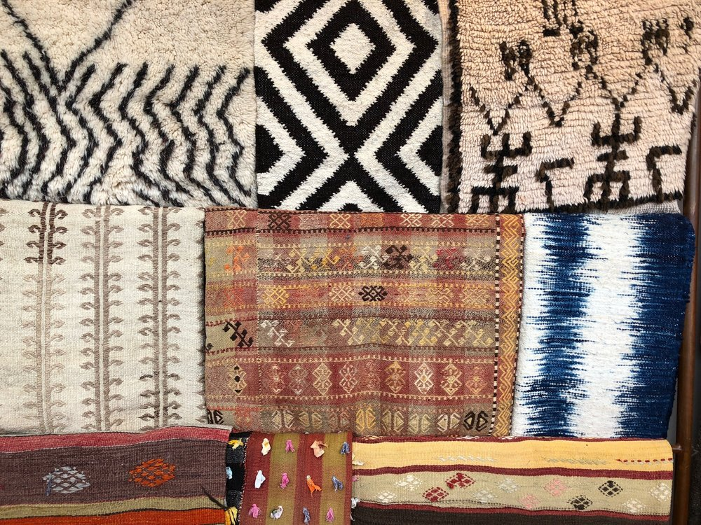 The Bold &the Beautiful - Mix colors and patterns with one of our vintage rug.