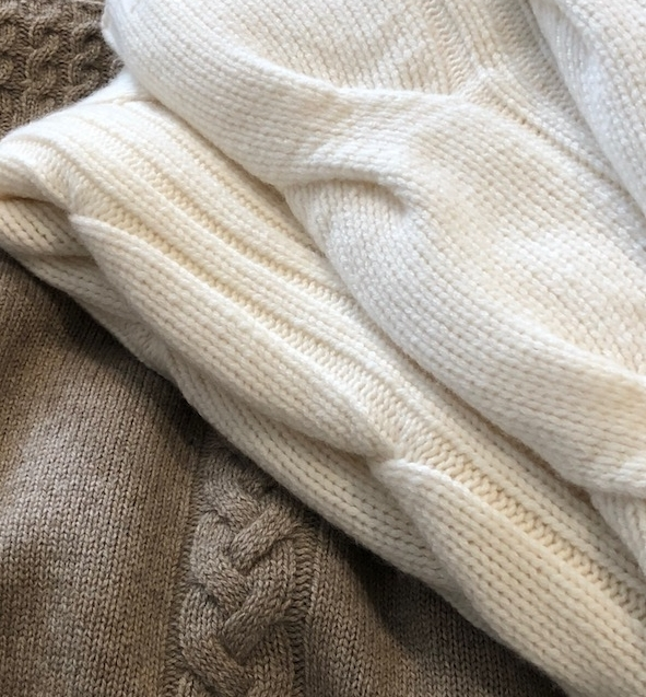 lightweight cashmere throws - with warmer days ahead, our costal temperatures can still leave a chill in the air. Cozy up with one of our cashmere throws.