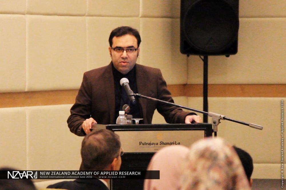 Dr Ali Ghaffarian (AUT University, New Zealand)