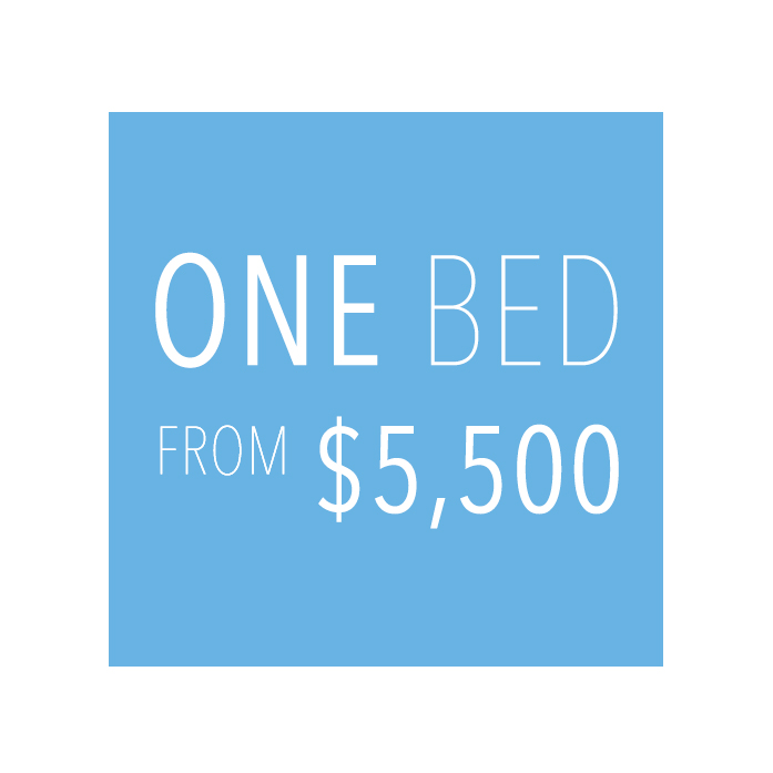 ONE BED   FROM 5,500