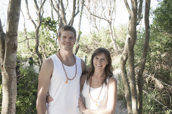 Nick and Radha Bradley - Akhanda Yoga Teacher Training Gold Coast