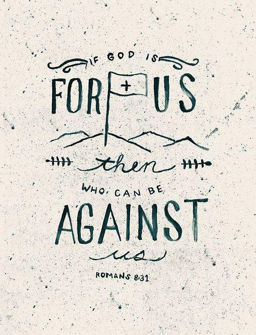 ¿Quién contra nosotros?