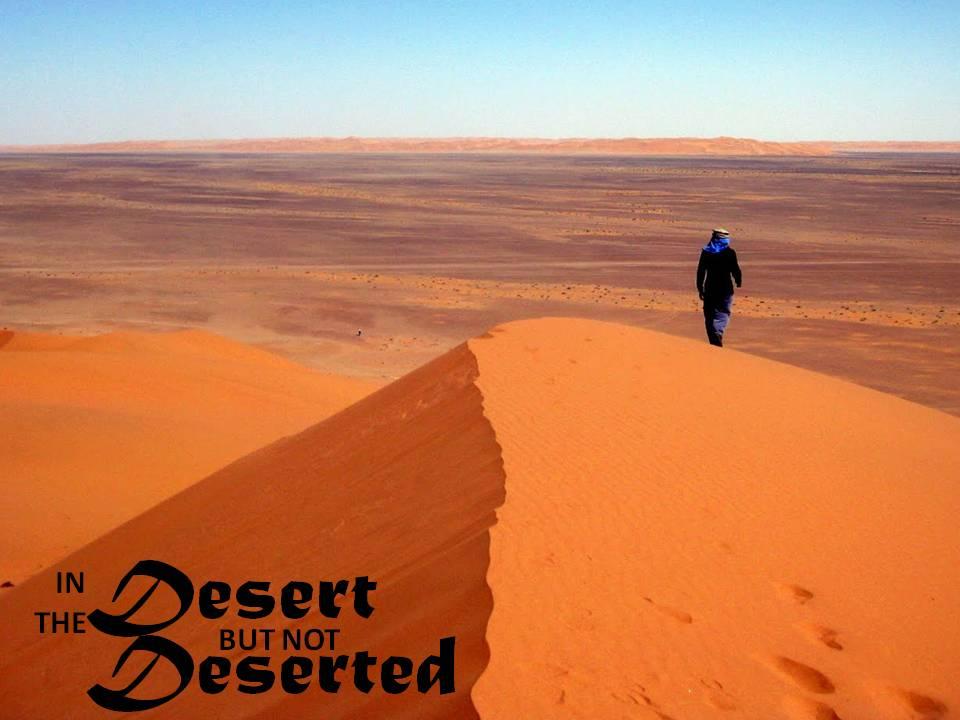 desert not deserted