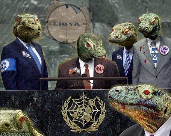 Lizard people at the U.N.