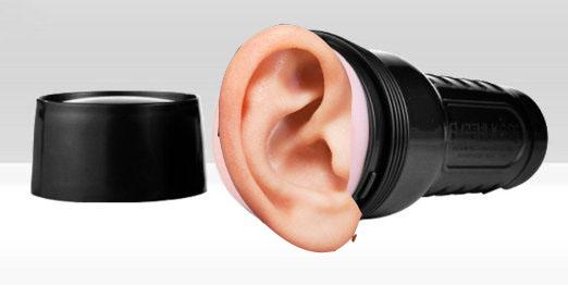 An 'Aural' Fleshlight where patrons can explore the erotic inner ear
