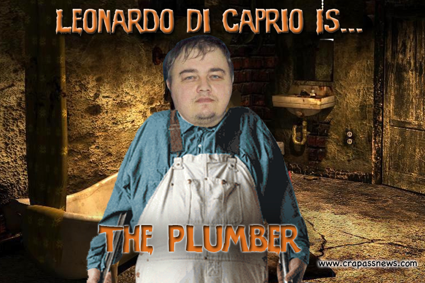 Highly acclaimed actor, Leonardo DiCaprio, has just announced his role in Martin Scorsese's 'The Plumber'.