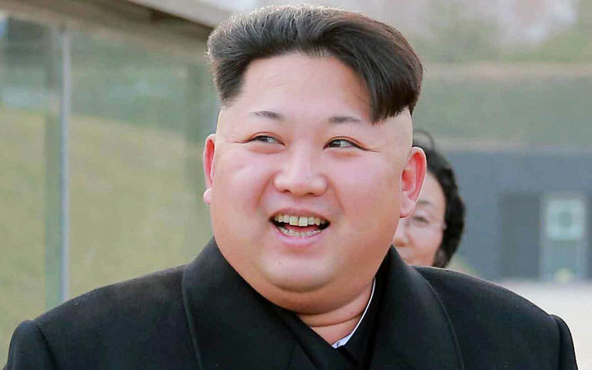 Kim Jong Un fantasizes about his gigantic penis.