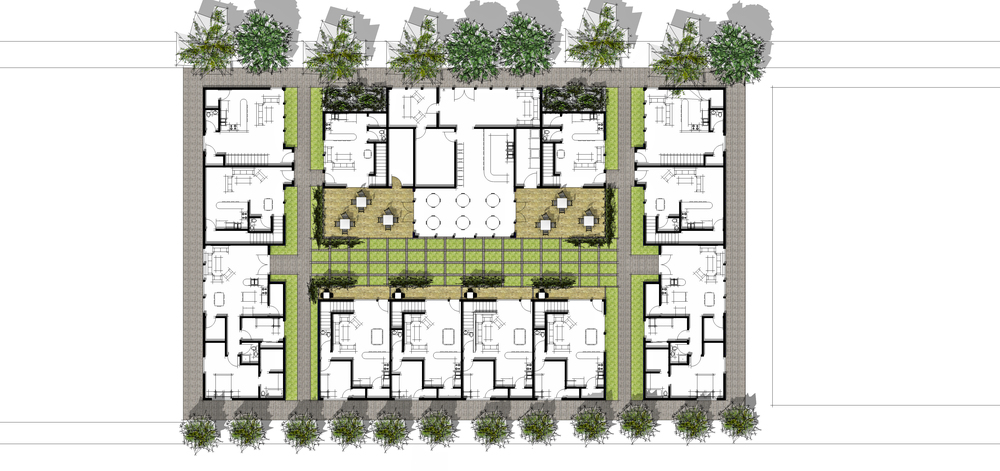 Site Plan/Level 1 Units