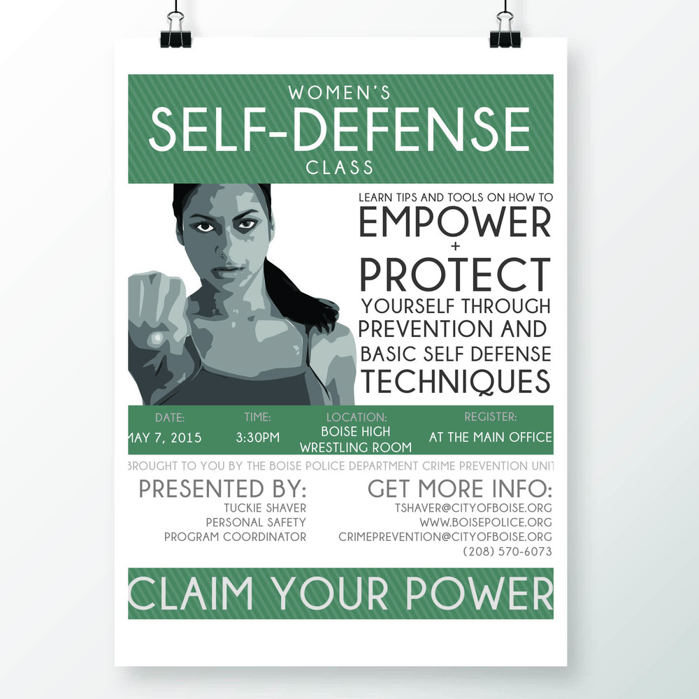 SELF DEFENSE ADVERTISEMENT