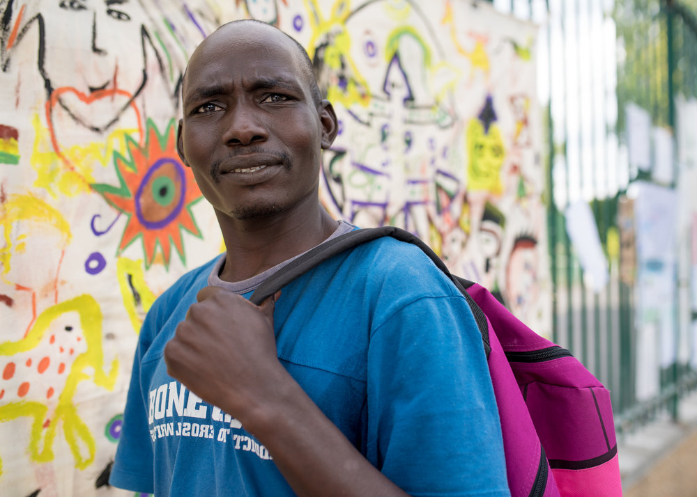 Zungni - Everyone I have met have always encouraged me to never give up hope, even with the chance of being deported back to Sudan, and to always pursue the dreams in my heart.