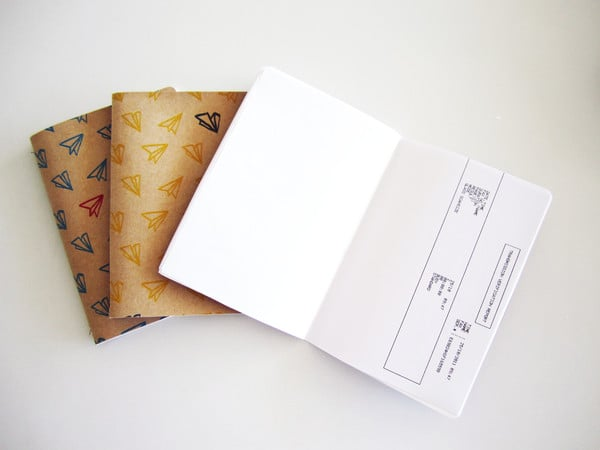 Misprint.co repurposed paper notebooks - photo from http://misprint.co/pages/our-story