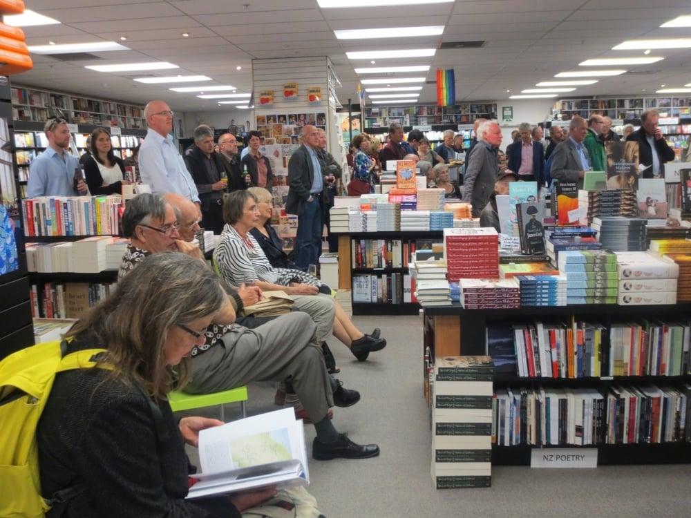 Unity Books Wellington - photo from http://unitybooks.nz/