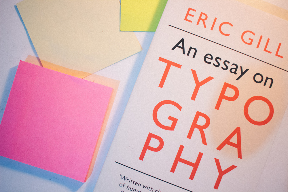Eric Gill - An Essay on Typography