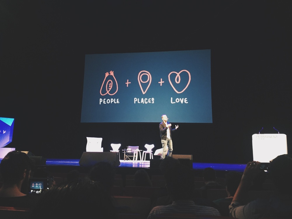 Paul Stafford talking about DesignStudio's AirBNB branding