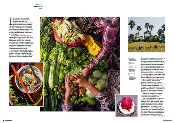 Siem Reap by Mouth: Siem Reap Food Tours in SilverKris magazine