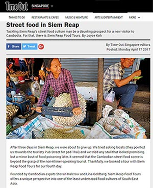 TimeOut: Siem Reap Food Tours