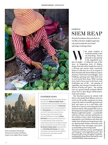 Pamela Goodman discovers how to eat like a local in Angkor's gateway city
