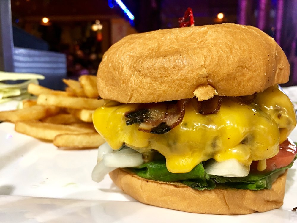 Pub Burger with Steak Cut Fries