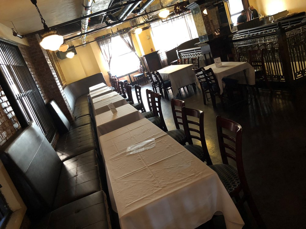 Our Mezzanine offers additional seating and area for private events or in conjunction with our Main Dining Room.
