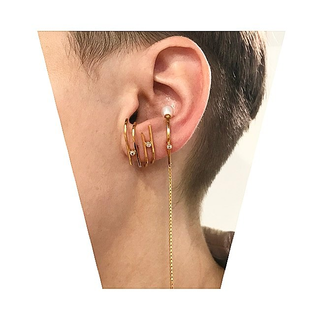 🌟⭐️🌟⭐️Ear play ⭐️🌟⭐️🌟Modeled by my bb @onesixfivejewelry 💕
