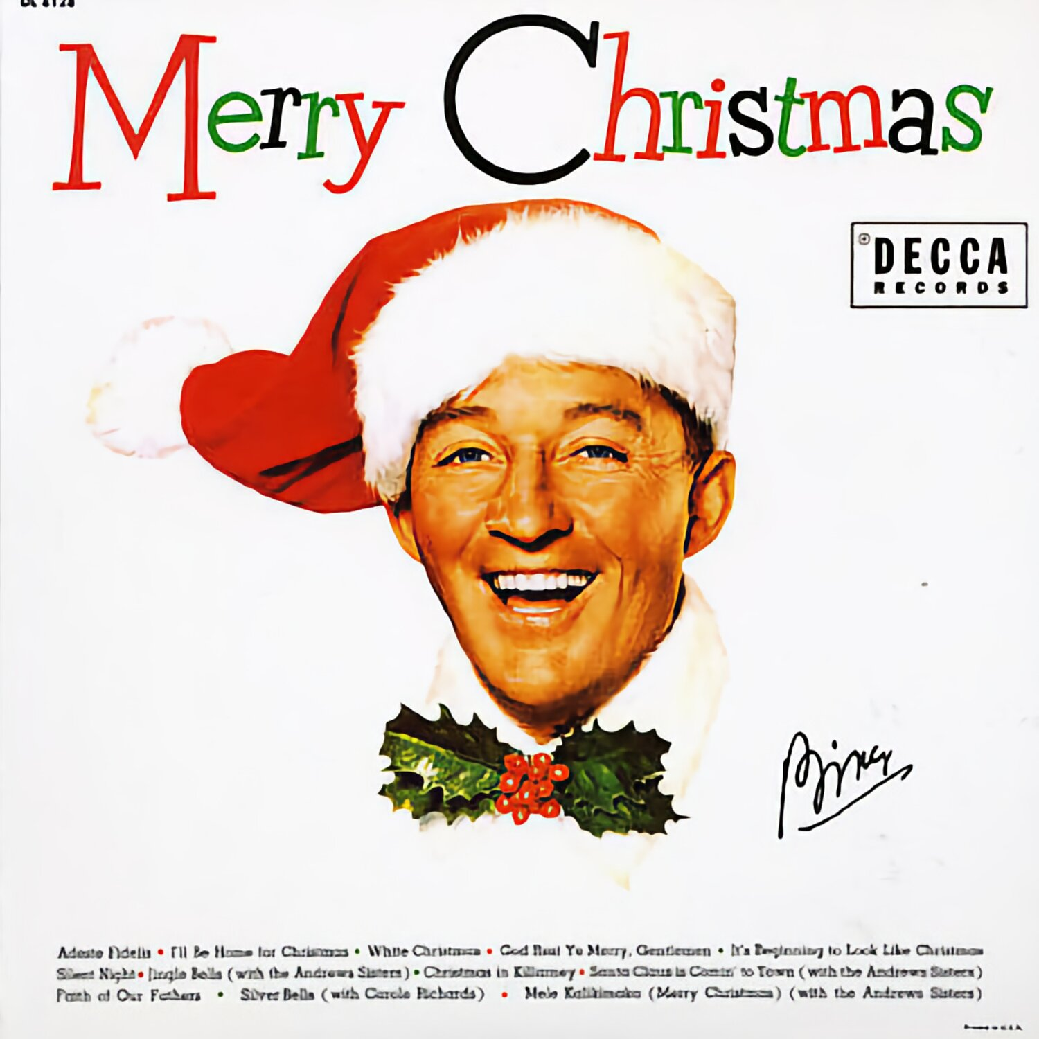 Bing Crosby Christmas Album.Bing Crosby White Christmas Merry Christmas Subjective
