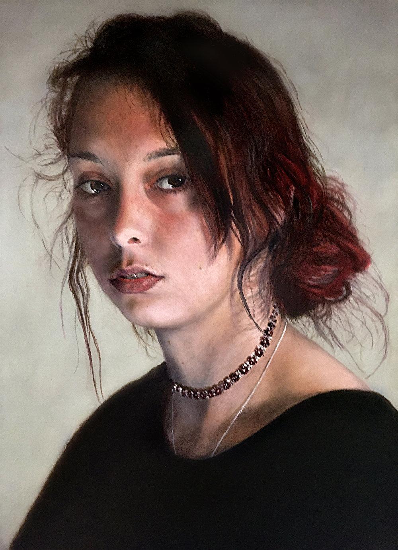 Portrait of Roseanna.