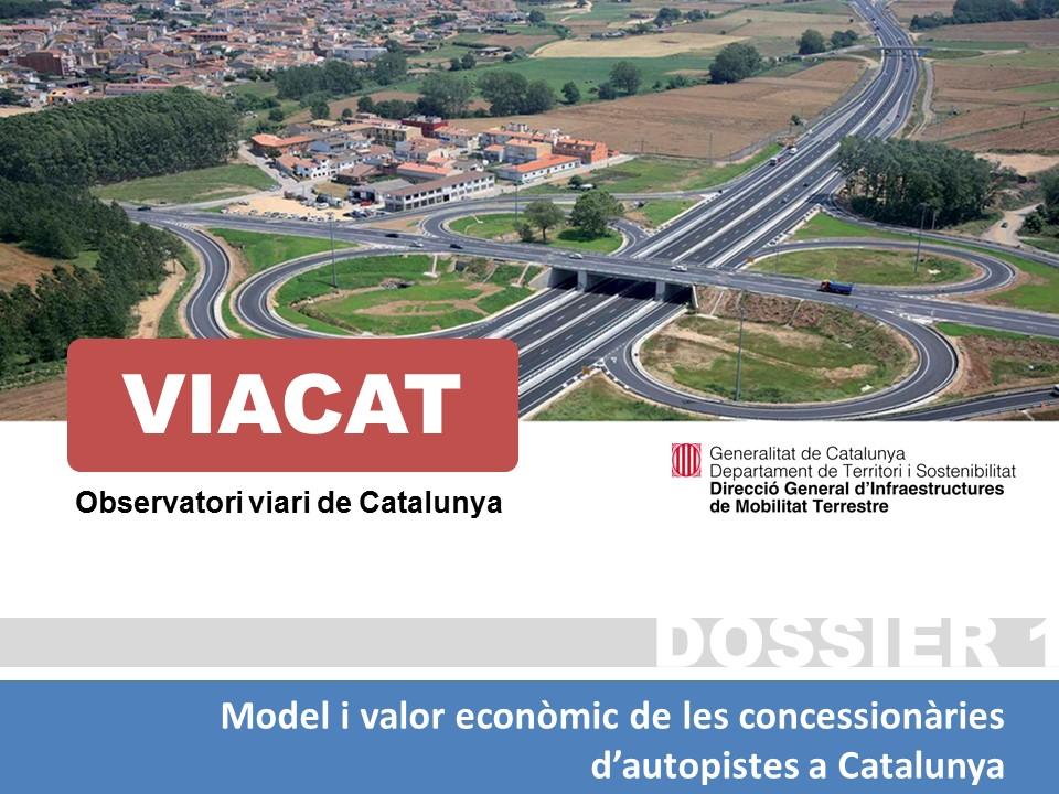 Model i Valor econòmic de les concessionàries d'autopistes a Catalunya