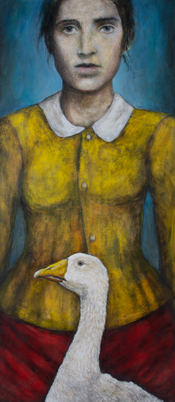Goose Girl (with Yellow jacket)