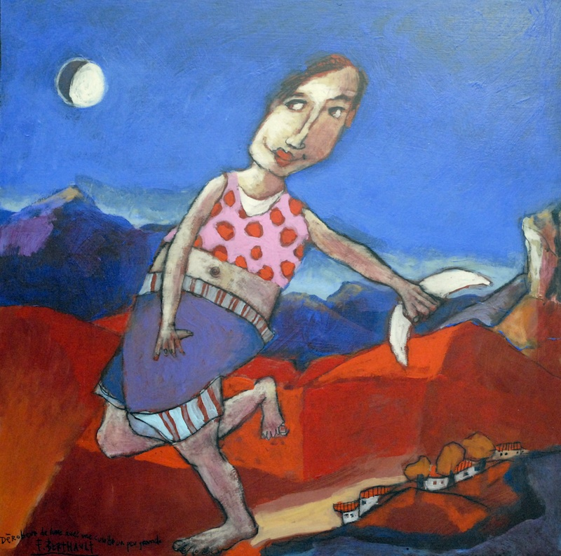 Dérobeur de Lune avec une Culotte un Peu Grande