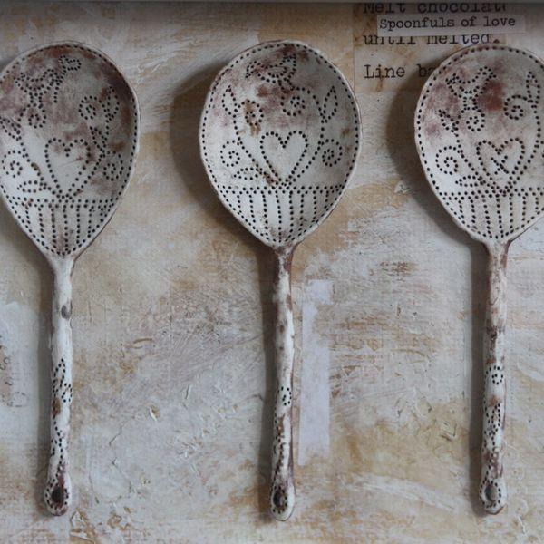 Lovebird Spoons