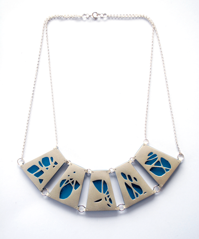 Necklace - Teal