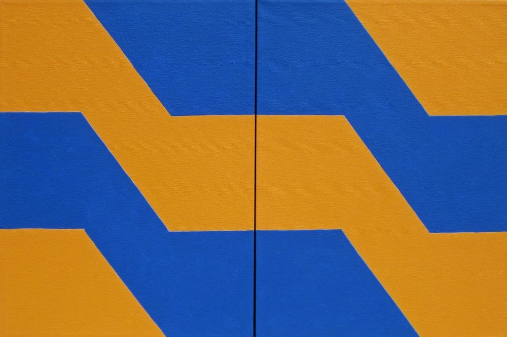 6mp_untitled (blue and orange) acrylic on canvas (two panels) 30x46cm 2010.jpg