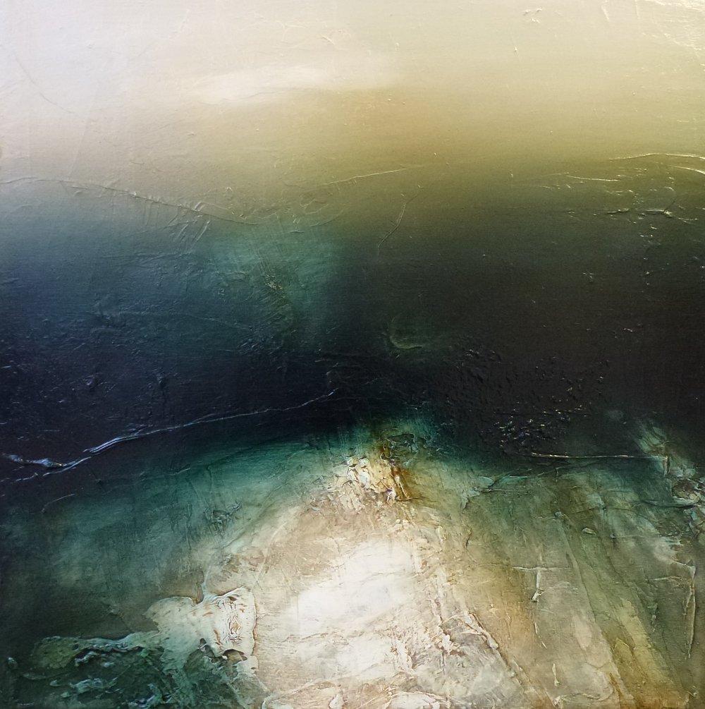 deep shade on blackamoor oil painting 60cms x 60cms £950