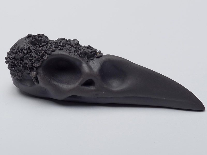 Black Raven  porcelain