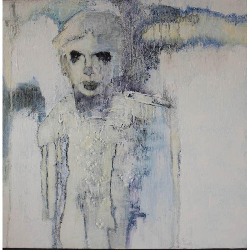Secret Soul  Mixed media on canvas  35 x 35 cm  £600