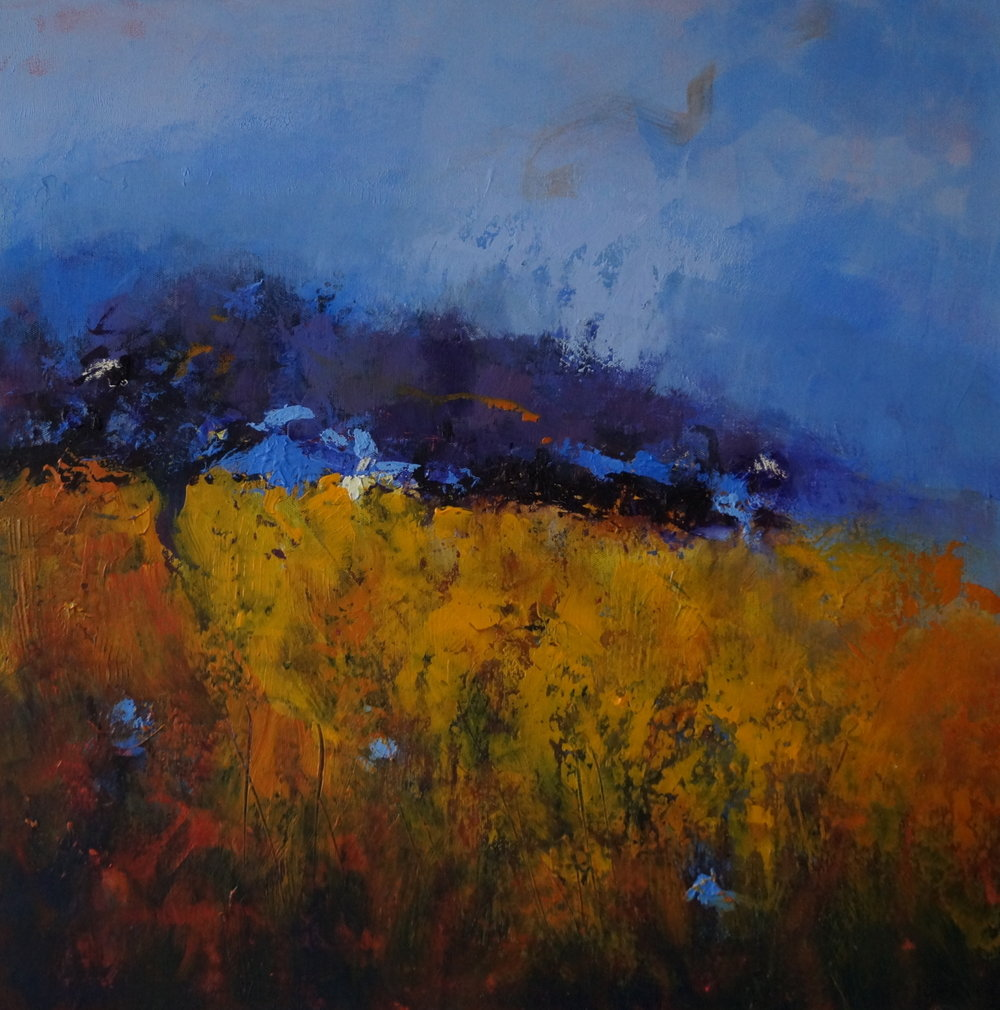 3 Dark Tree Golden Field 63 x 63cm  .JPG