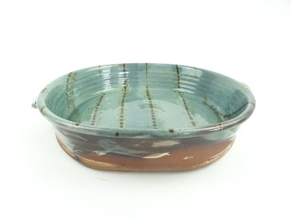 Blue Dish  5.5H x 28D cm   £65