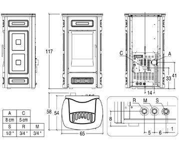 piazzetta stufa a pellet P963C struttura.jpg