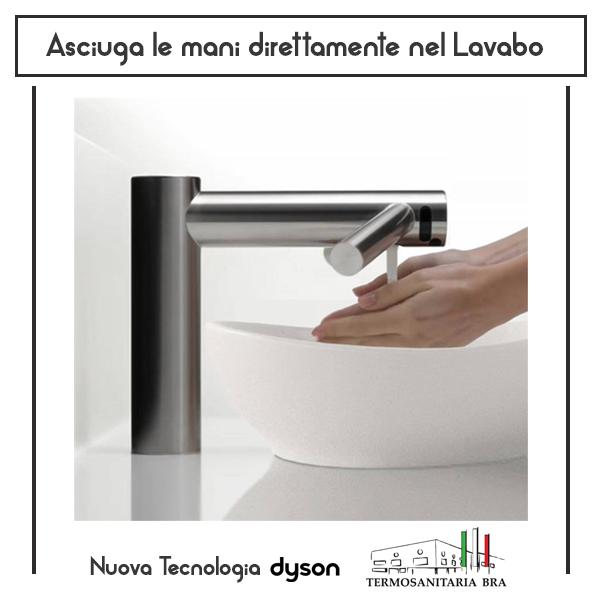 tecnologia dyson airblade asciugamani