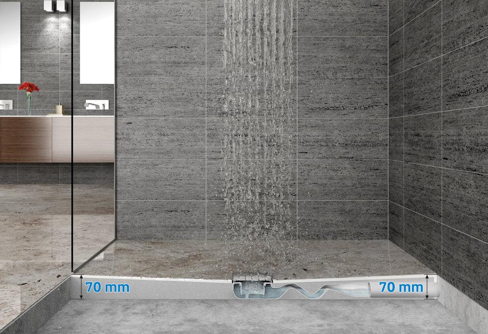 Shower systems doccia a pavimento valsir u termosanitaria bra