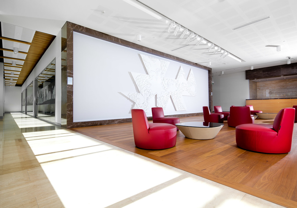Interior commercial architecture photography by Melbourne architecture photographer Stefan Postles