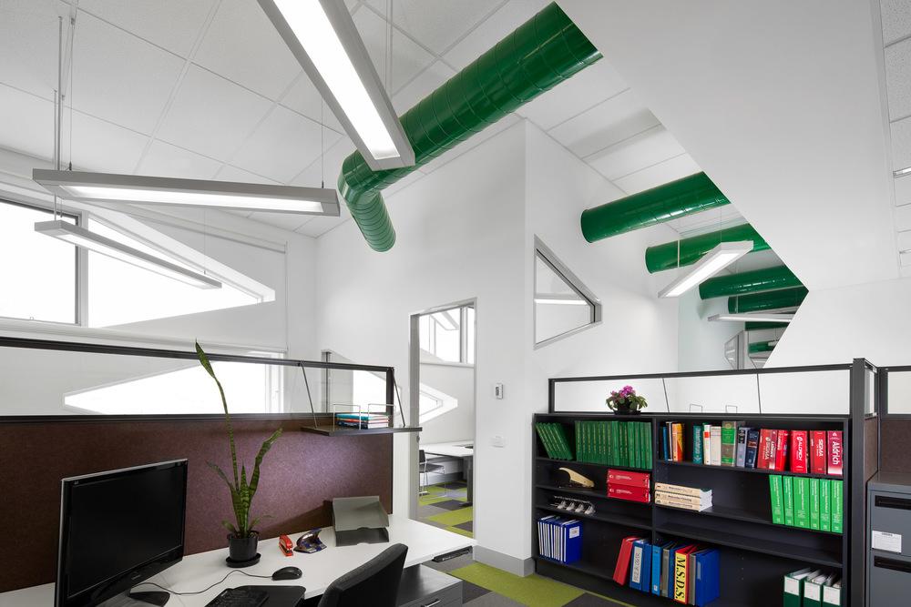 ANU building designed by Lyon's architects by Melbourne architecture photographer Stefan Postles