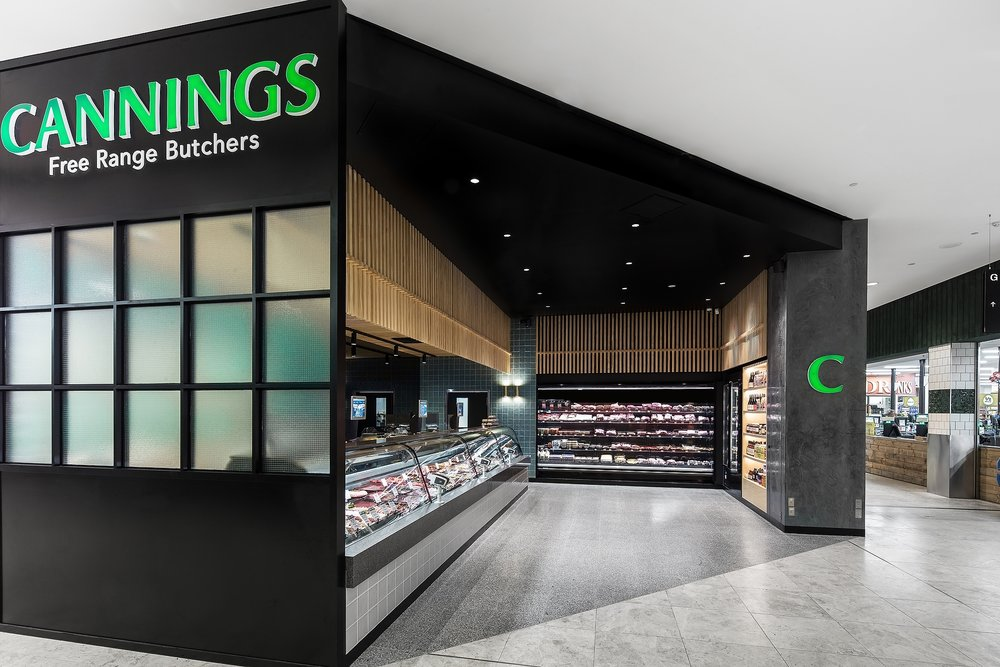 Cannings Butcher South Yarra commercial interior photographer Melbourne.