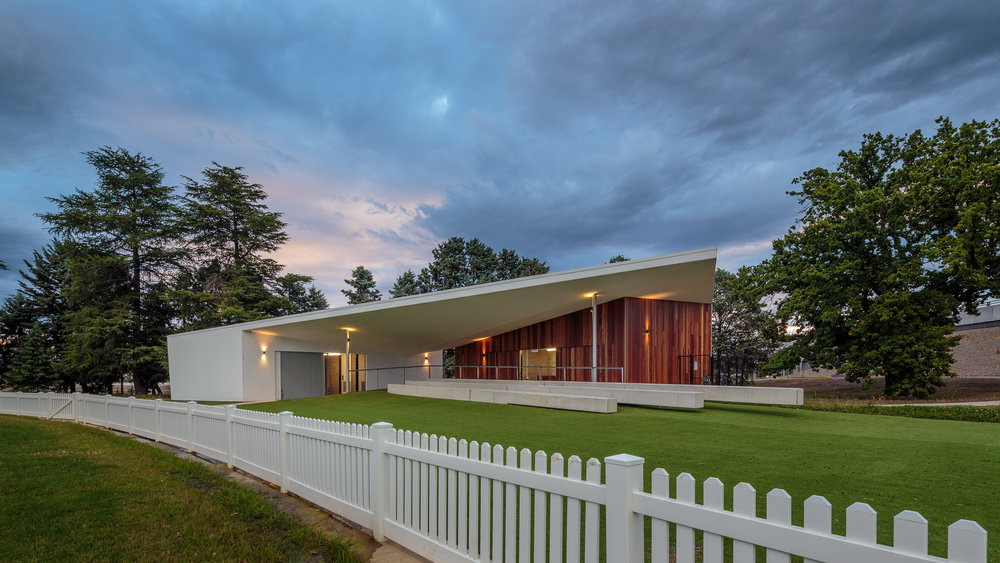 Duntroon cricket pavilion - Collins Caddaye Architects