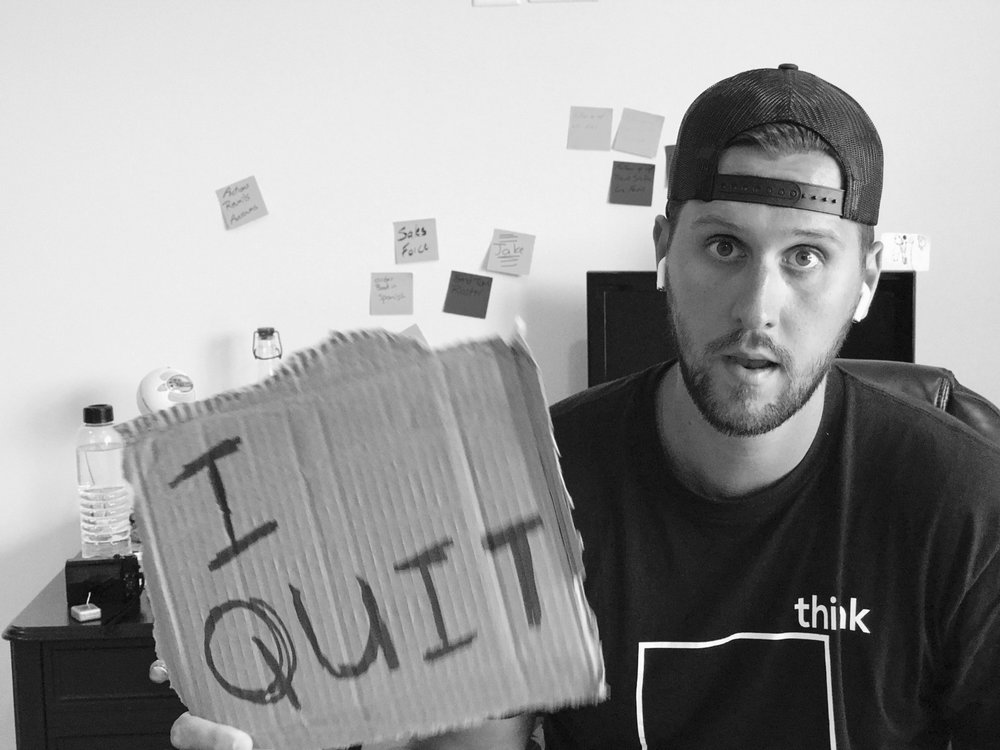 Quitting Might Be The Answer -