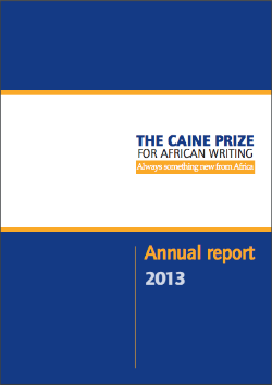 caine prize annual report 2013.png